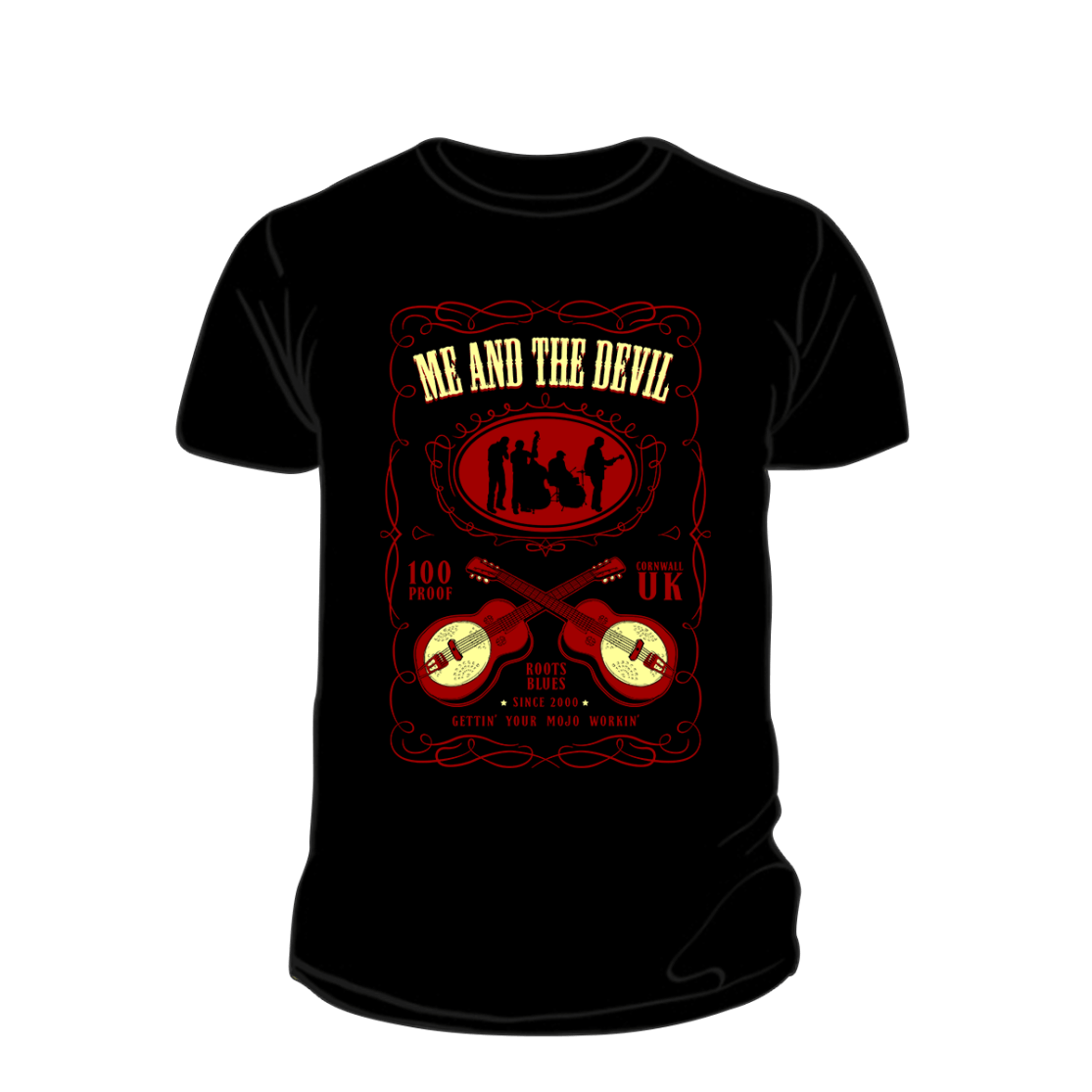 Me and The Devil - Whiskey T-shirt